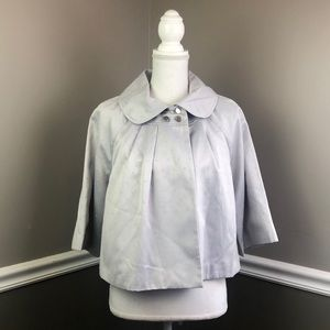NWT Worthington Short jacket Gray L